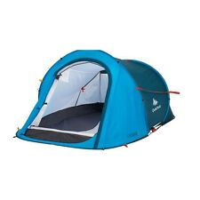 QUECHUA 2 Seconds Easy II Pop Up Camping Tent - 2 Man - Blue