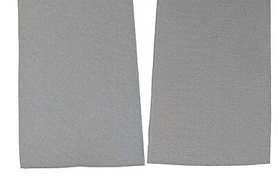 Klettband 100 mm schwarz je 1 m Klett und je 1 Meter Flauschband zum kleben