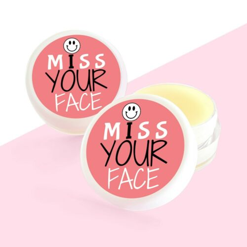 Pocket Hug Letterbox Gift Miss You Miss Your Face Lip Balm Distance Gift