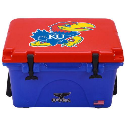 ORCA 26 qt Bleu /& Rouge Kansas Jayhawks Cooler