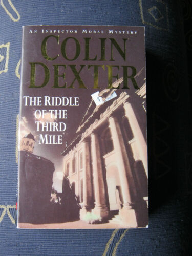 1 of 1 - COLIN DEXTER - The Riddle of the Third Mile - An Inspector Morse Mystery