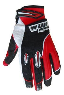 Wulfsport Kinder Handschuhe Stratos XXS rot Moto Cross Quad BMX Enduro Motorrad