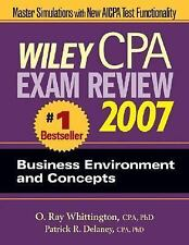 Wiley CPA Exam Review 2007 Business Environment and Concepts (Wiley Cpa Examinat