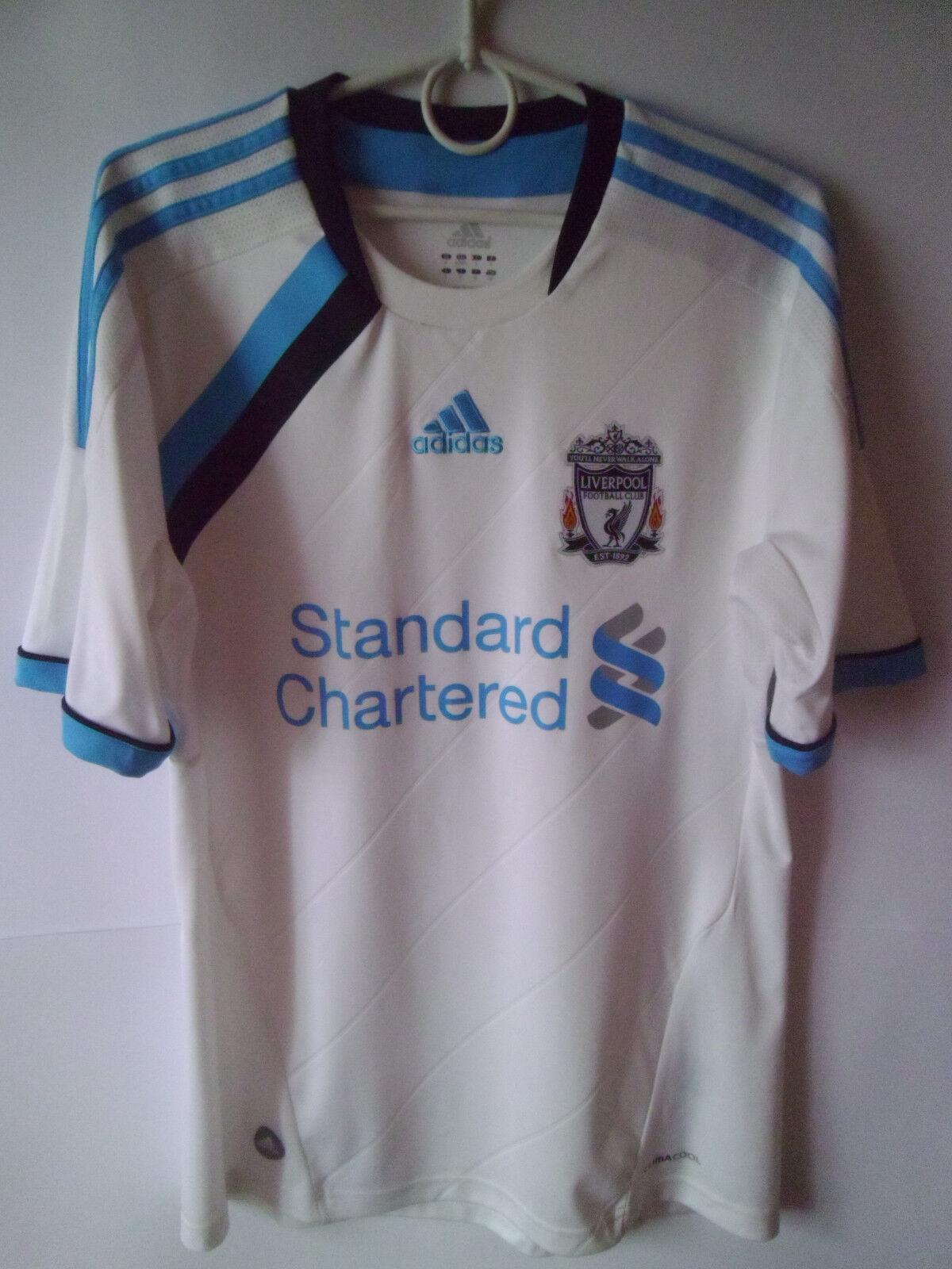 2011-12 Liverpool Third Shirt Jersey Trikot S
