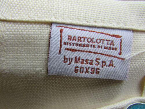 "Masa Spa Italie 100/% coton peigné Nappe Table Nappe 96/"" x 60/"" Bartolotta"