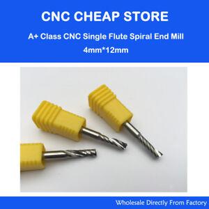 """2PCS 1//4/"""" 6.35mm*25mm HQ Carbide CNC Router Bits Single Flute Tools Aluminum cut"""