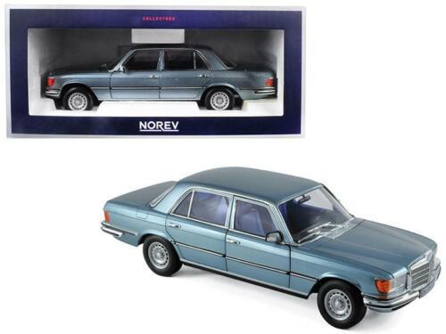 1976 Mercedes Benz 450 Sel 6.9 Cinza//azul metálico 1//18 Diecast modelo de carro Norev