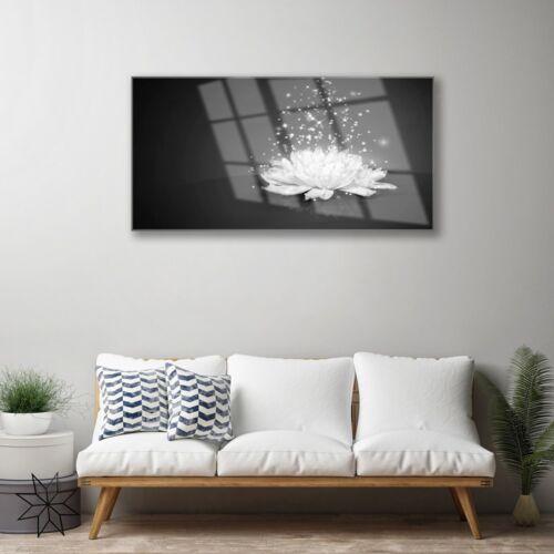 Wandbilder 100x50 Glasbild Druck auf Glas Blume Pflanzen
