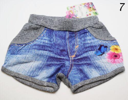 Bambini Bambine Bambini Minnie congelato Primavera Estate a Strati Pantaloni Pantaloncini