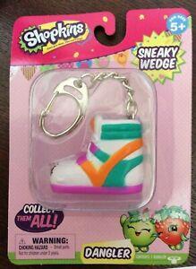 Shopkins SNEAKY WEDGE dangler backpack clip key chain ...