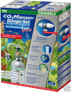 dennerle co2 mehrweg set space 600 special edition m 2kg flasche ph controller ebay. Black Bedroom Furniture Sets. Home Design Ideas
