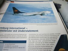 Airlines Archiv Deutschland Hamburg International Dienstleister 4S