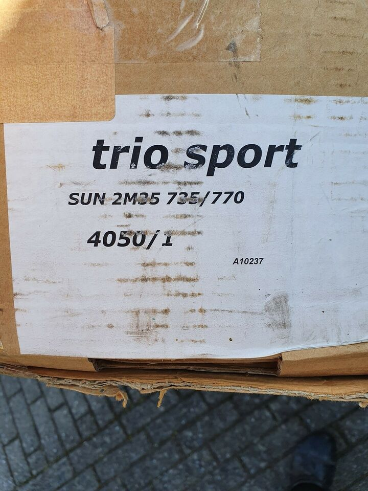 Fortelt, Trio sport