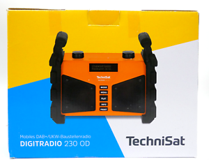 TechniSat DAB+ Digitradio 230OD Mobiles Baustellenradio Akku Blueto. UKW Radio -