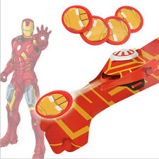 Marvel SuperHero Iron Man Launchers Gloves Cosplay Party Toys Kids Gift Xmas