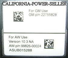 2011 2012 2013 Cadillac Escalade ESV EXT Navigation CF Card Map 10.3 Update OEM