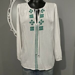 Medium-MICHAEL-KORS-Embroidered-Peasant-Blouse-Top