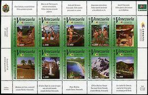 Venezuela 2003 Indios Kinder Landschaft CONATEL Telekommunikation 3532-41 ** MNH