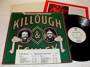 Killough-amp-Eckley-Self-Titled-S-T-1977-Rock-LP-Nice-NM-Promo-WLP-Insert