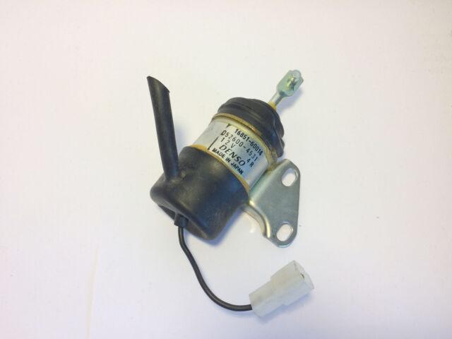 Absteller Abstellmagnet Solenoid Stopmagnet Zugmagnet 12V TAU-837T