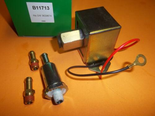 NEW REPLAC FACET SOILD STATE ELECTRIC FUEL PUMP FITS CARBURETOR ENGINES 11713