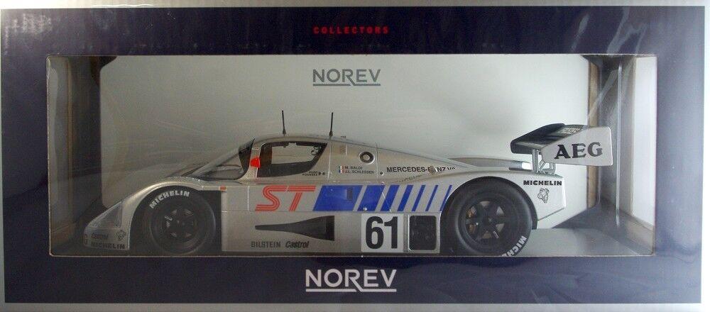 Norev 183441 limpio-Mercedes c9-Winner 400 km suzuka 1989-Baldi atiempo