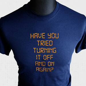 have-you-tried-Turning-It-sin-mangas-y-On-Again-CAMISETA-THE-Crowd-ROY-Chris-O-039