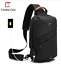 miniature 12 - PJ Tangcool men's USB port waterproof one shoulder bag multi-purpose chest bag