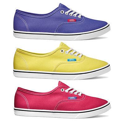 Warnen Vans - Authentic Lo Pro - Neue Kollektion - Skate Sneaker Canvas Schuhe - Neu Durchblutung GläTten Und Schmerzen Stoppen