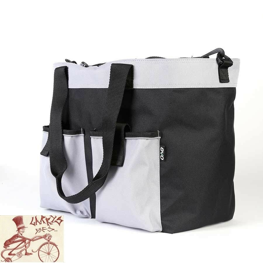 EVO CLUTCH SHOPPER BAG--12.6 x 7.9 x 11.6 ---SINGLE