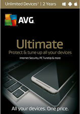 AVG Ultimate 2016 Unlimited Devices, 2 Yrs (Free Upgrade to 2017 Version)