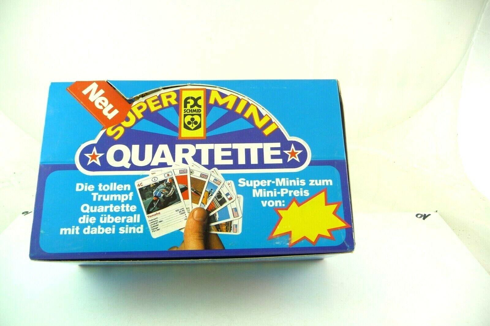 Distributeur Boîte en carton de 50 miniquartetten de FX SCHMID, neufs de ladenfund