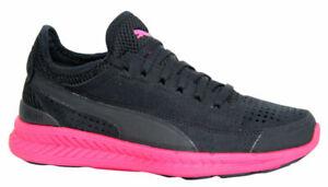 Puma Ignite Sock Knit Lace Up Black