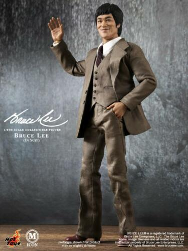 """Hot Toys HT MIS11 1//6 Bruce Lee In In Suit Version Action Figure Model 12/"""""""