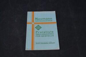 Age-Print-Naumann-Sewing-Price-List-Old-Vintage-Advertisement-Advertising