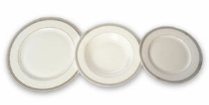 18-Pieces-Porcelaine-De-Table-Cuisine-Table-Service-L-039-Assiet-Ceramique-Blanc