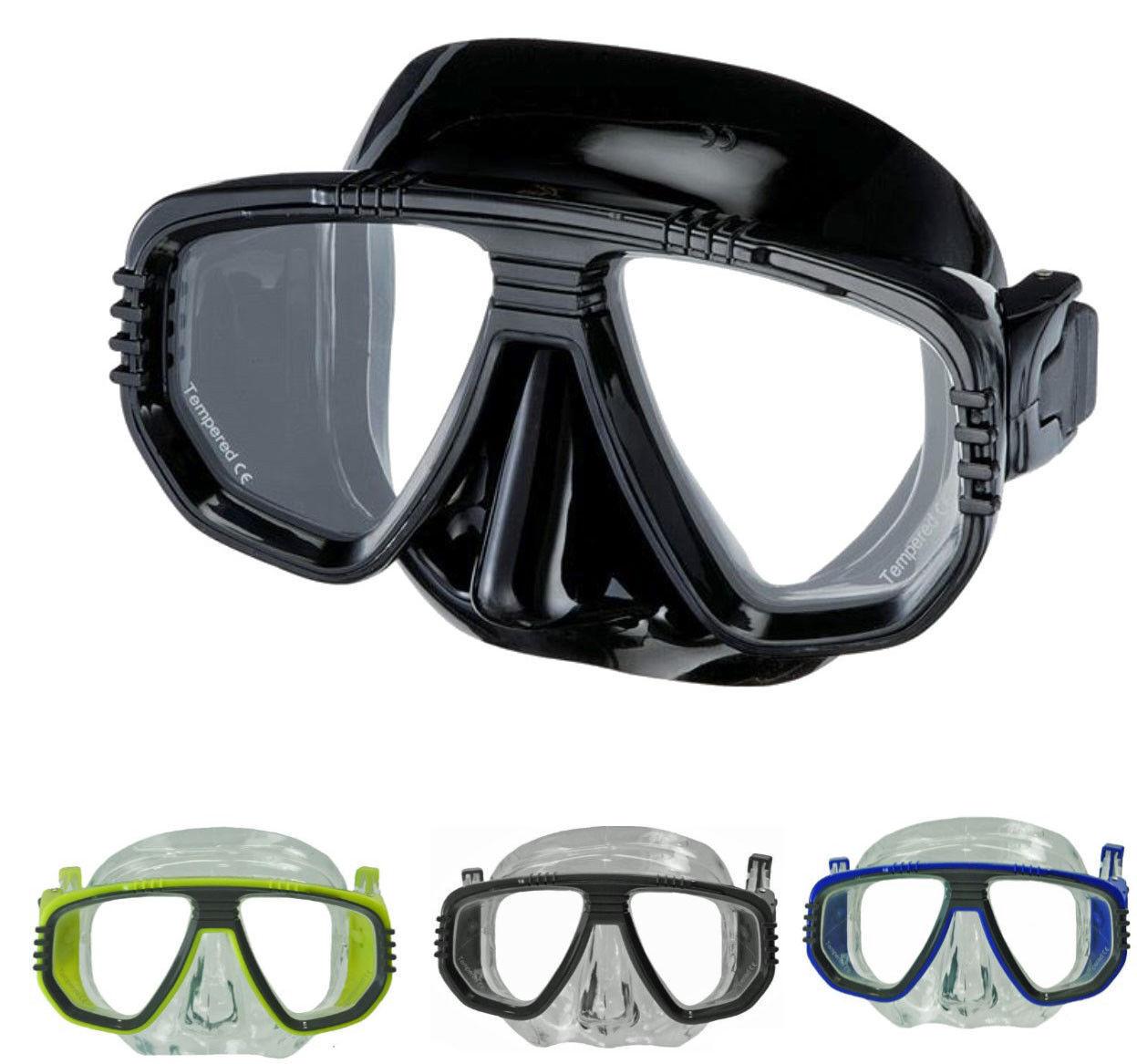 PRESCRIPTION Scuba Dive Snorkel Spearfishing MASK + RX SIGHT CORRECTIVE Lens