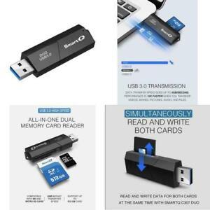 USB 2.0 Mini Compact SDHC SDXC MicroSD MicroSDHC Micro SDXC Memory Card Reader