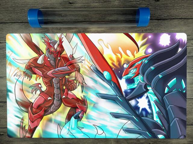 CARDFIGHT! Vanguard Dragonic Overlord Custom VG Playmat Free High Quality Tube