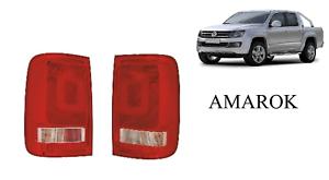 VW AMAROK 2010 to 2017 Pickup Truck Rear Tail Light Lamp Pair 2 PC Full M70M71
