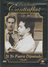 DVD  - Si Yo Fuera Diputado NEW Por Siempre Cantinflas FAST SHIPPING !