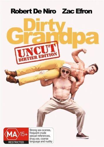 1 of 1 - Dirty Grandpa (DVD, 2016) Robert De Niro, Zac Efron