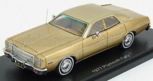 NEO SCALE MODELS 1/43 PLYMOUTH | FURY 1977 | GOLD MET