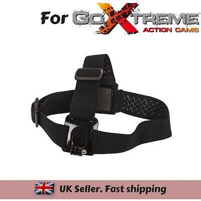 Set of 3 Chest Head Wrist Strap for GoXtreme Black Hawk 4K Vision 4K Ultra HD