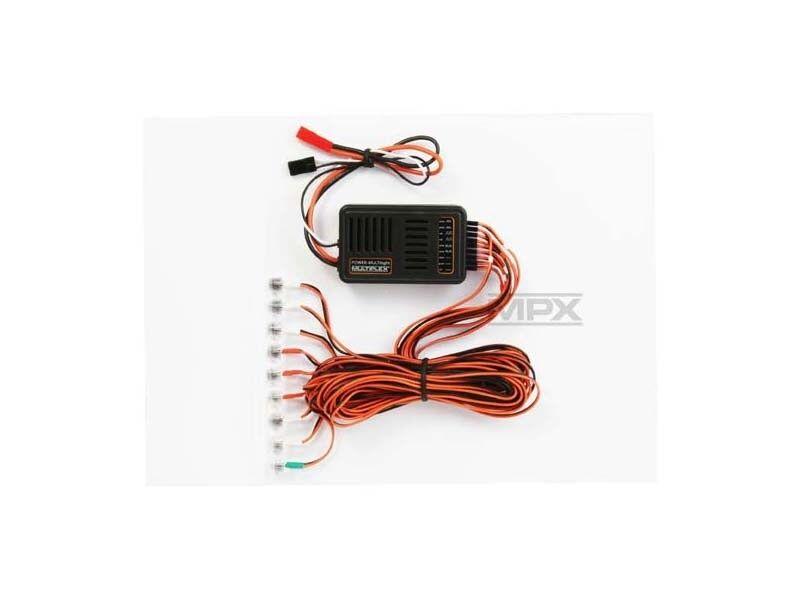 Multiplex  energia MULTILIGHT Lichtset per modellololi di volo - 73030  vendite online