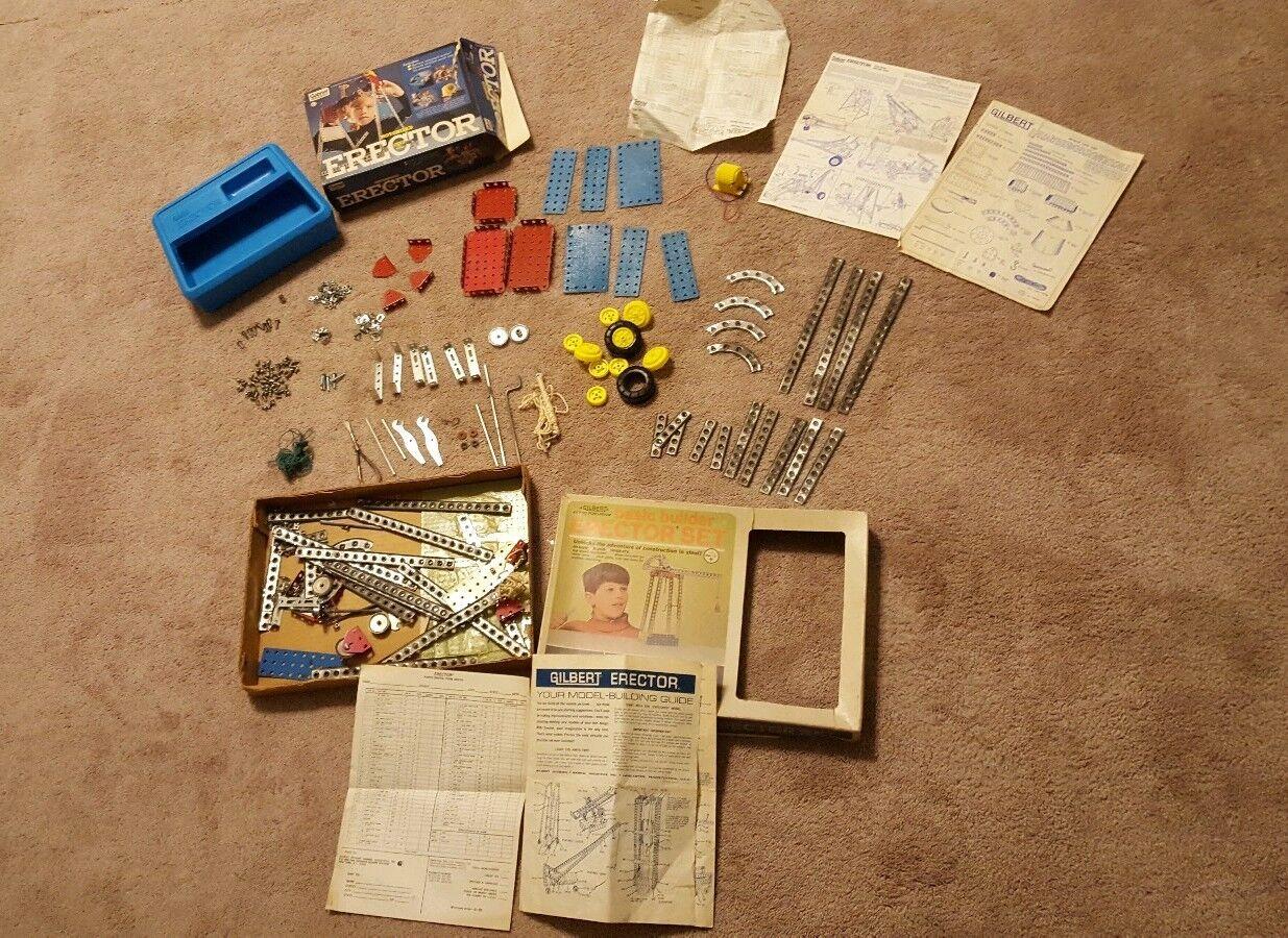 ventas en linea Vintage Vintage Vintage Gilbert Erector conjuntos no. 8101 & 36142 Con Cajas Originales-Lote de 2  venta caliente