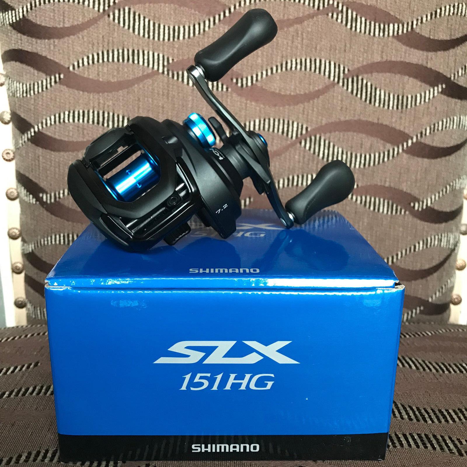 Shimano SLX 151 HG Linkshand Baitcastrolle NEW 2018 Model