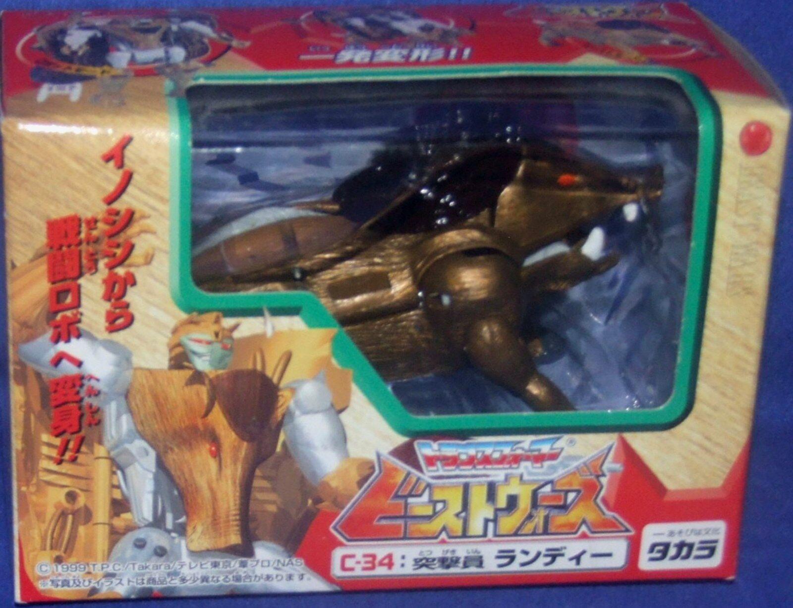 Transformers Beast Wars C-34 Razorbeast Nuovo Japanese Takara 1999