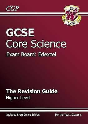 """""""AS NEW"""" GCSE Core Science Edexcel Revision Guide - Higher (with online edition)"""