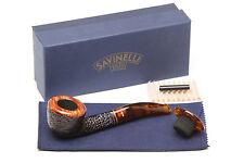 Savinelli Tortuga Rustic 305 Tobacco Pipe